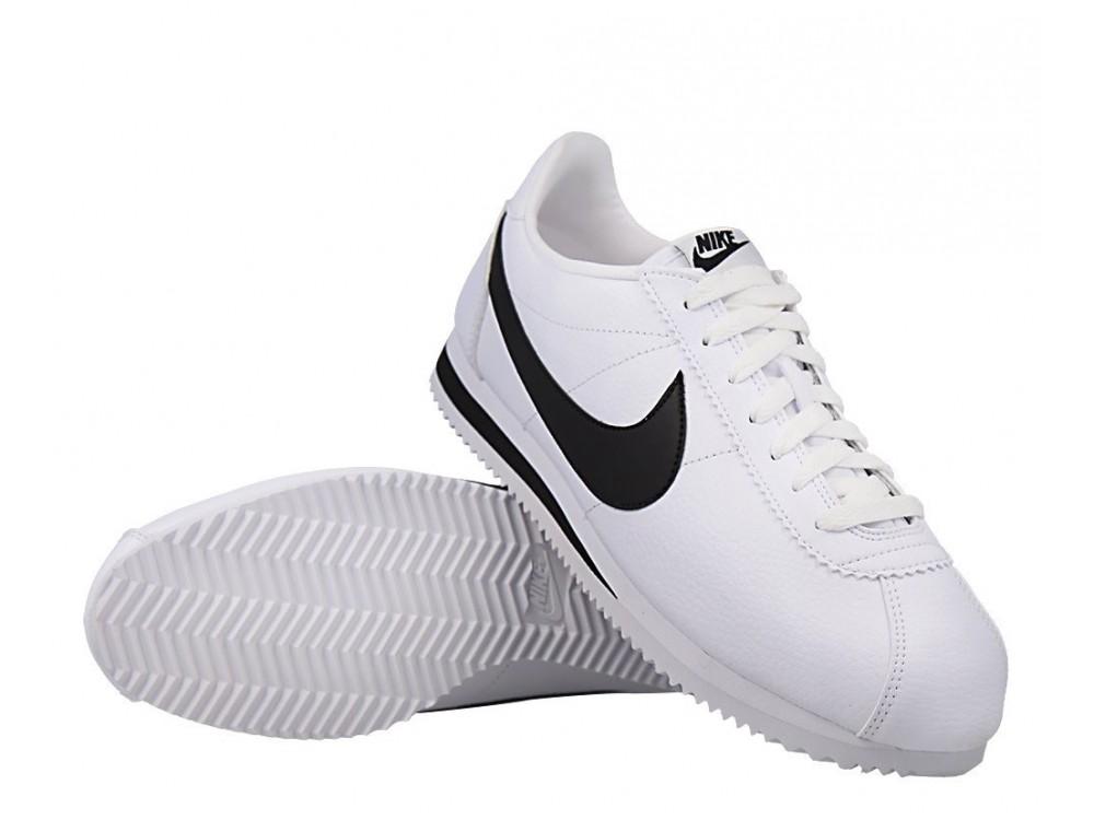 NIKE CORTEZ CLASSIC Blancas y Negras| Nike Cortez Blancas y ...
