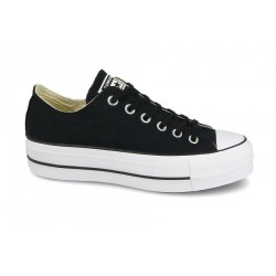 CONVERSE CHUCK TAYLOR ALL STAR LIFT PLATAFORMA MUJER 560250C NEGRAS