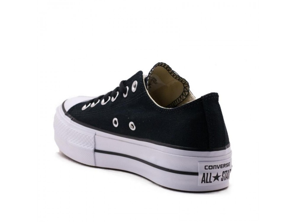converse negras mujer chuck taylor