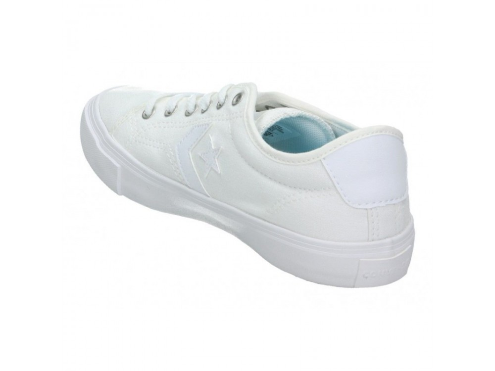 CONVERSE STAR REPLAY OX ZAPATILLA JUNIOR 663651C BLANCAS