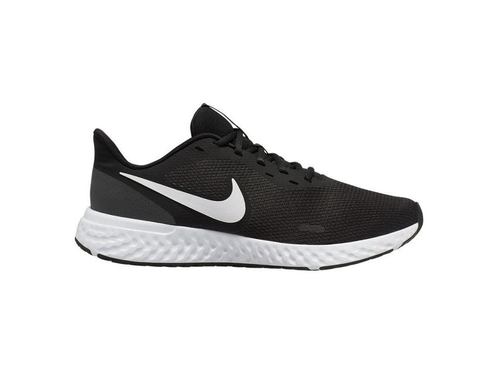 nike zapatillas blancas y negras