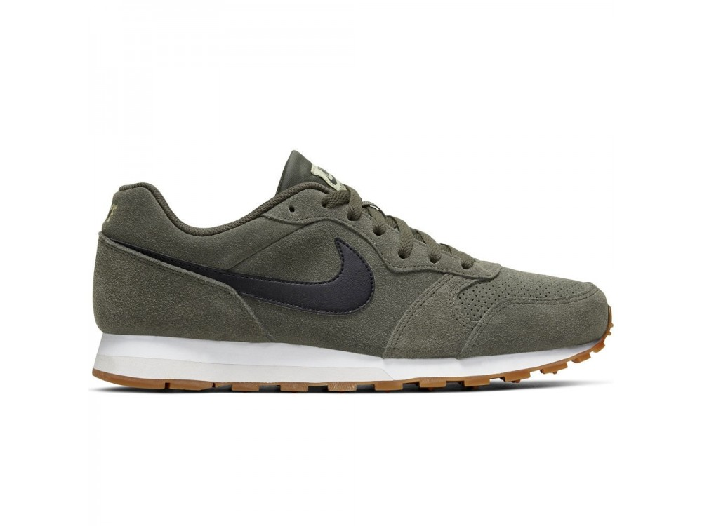 Zapatilla Verde Nike Md Runner 2