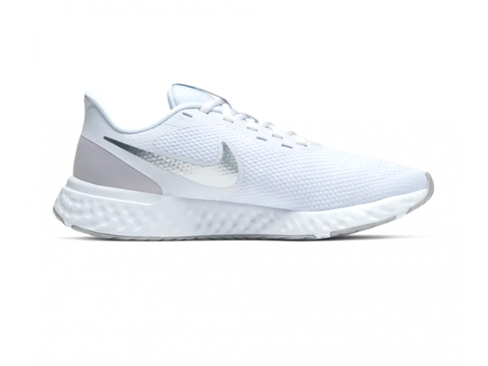 sistemático Hacer un muñeco de nieve querido  NIKE REVOLUTION 5 MUJER BLANCAS: Zapatillas Nike Revolution 5 Mujer Blancas