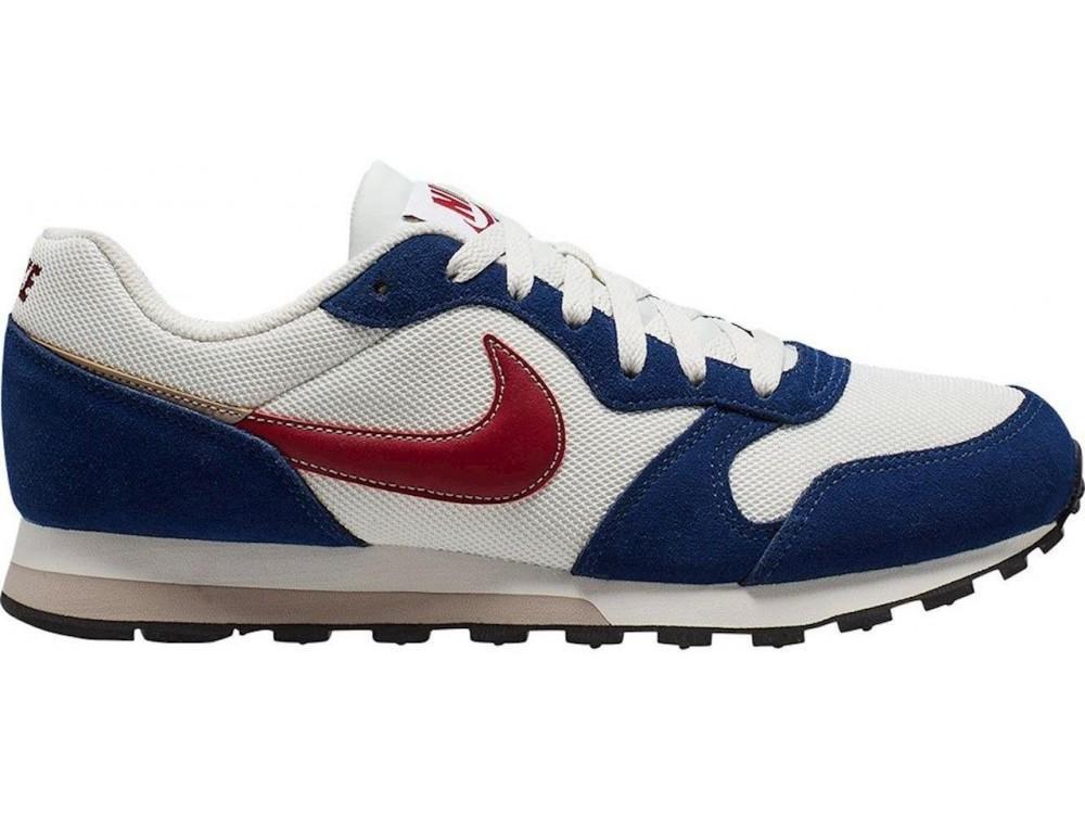 Leer Muñeco de peluche Enlace  Nike: Comprar Zapatillas Hombre Nike MD Runner 2 ES1 Azul y blancas|Bambas  Nike baratas