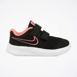 NIKE STAR RUNNER 2 TDV ZAPATILLA NIÑA AT1803 002 NEGRAS