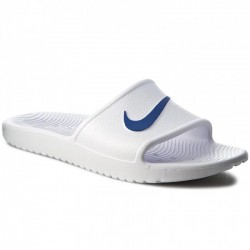Chancla Hombre Nike Kawa Shower 832528 100 Blancas