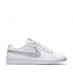NIKE COURT ROYALE MUJER BLANCA Y PLATA 749867 100