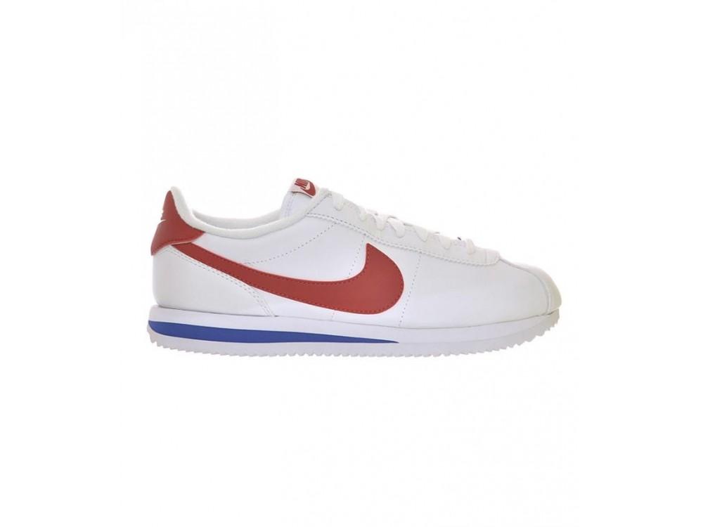 NIKE Cortez Hombre Blancas Rojas Comprar Nike Baratas