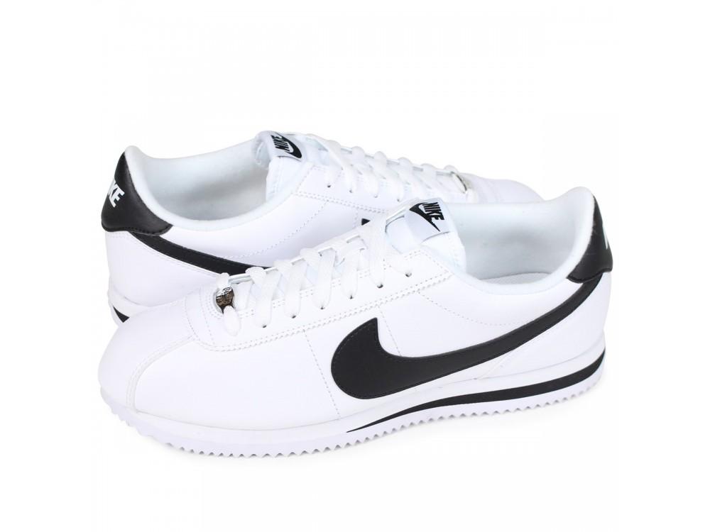 NIKE Cortez Hombre - Blancas - Negra // Comprar Nike Baratas ...