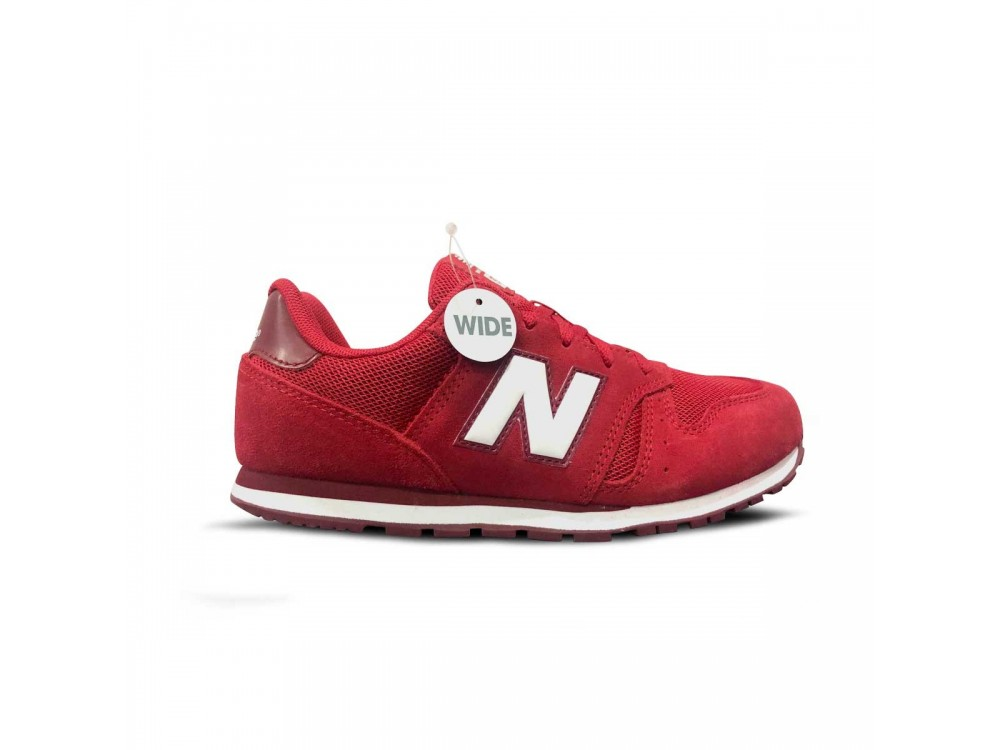 new balance niños rojas