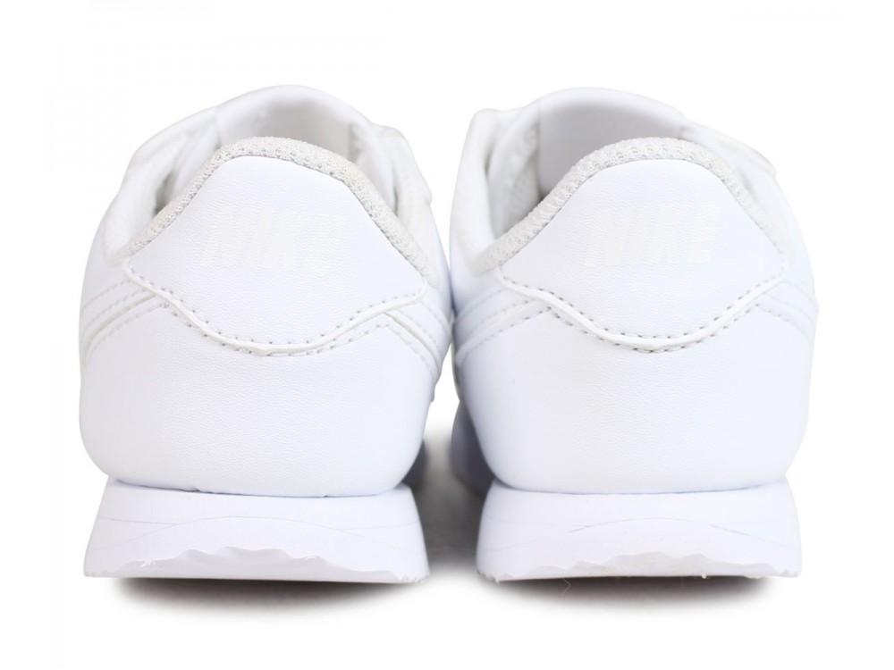 zapatillas nike cortez blancas