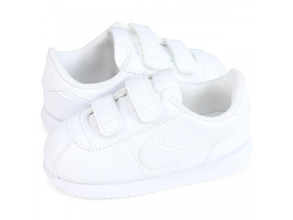 Térmico deseo cafetería  NIKE Basic Cortez Zapatillas: Nike Casual Bebe Cortez 904769 100 blancas