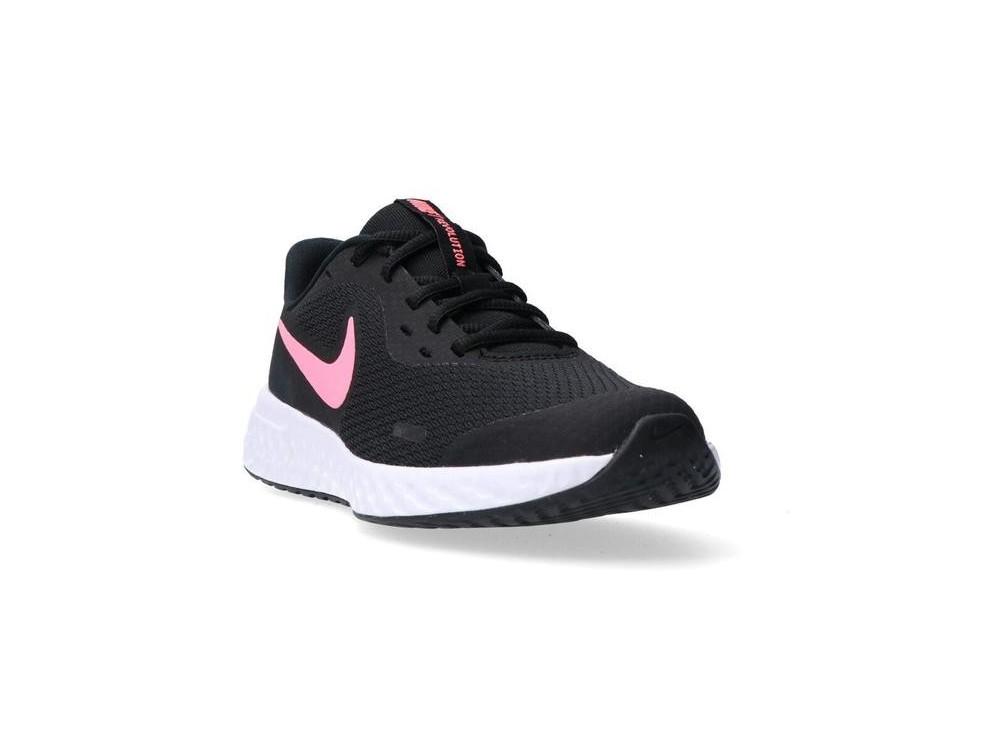 zapatillas negra nike mujer