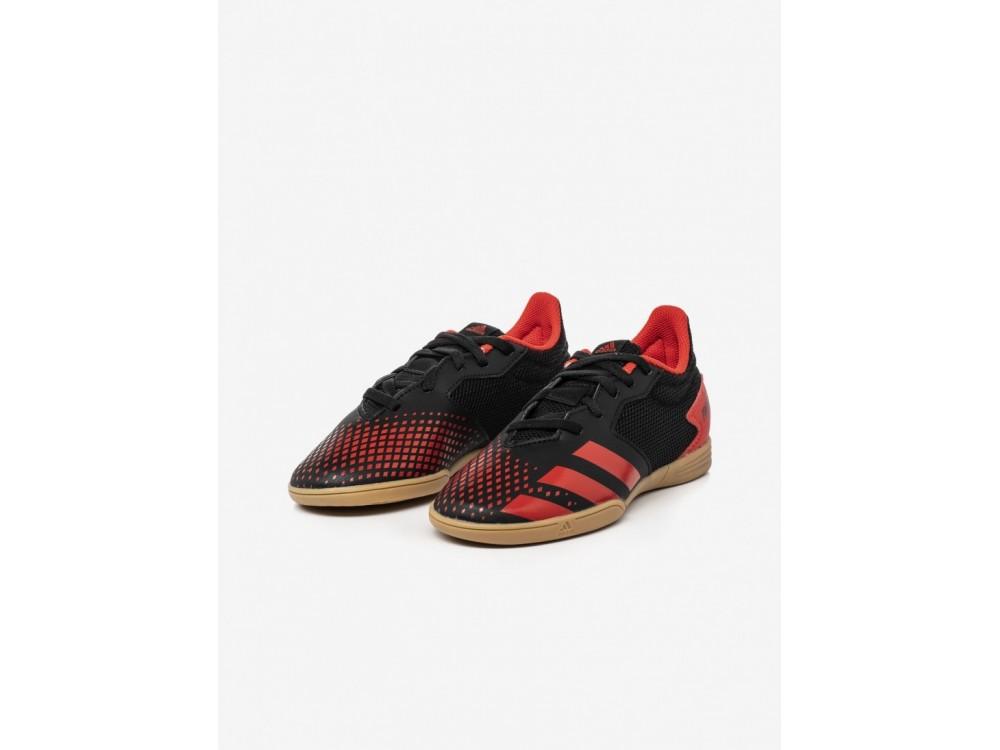 Adidas Predator 20.4 IN Sala J EF1979 Negra y Roja