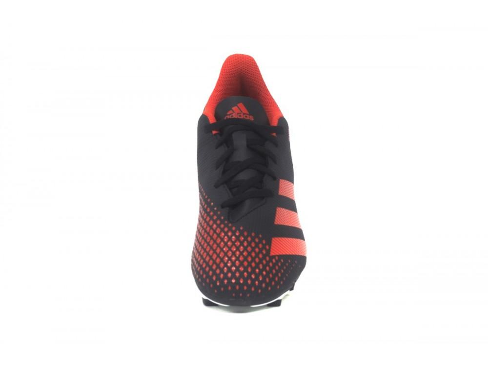 Adidas Predator 20.4 FxG J EE9566 Negra y Roja