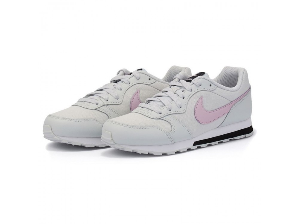 NIKE MD RUNNER 2 GS ZAPATILLA MUJER 807316 019 GRIS CLARO