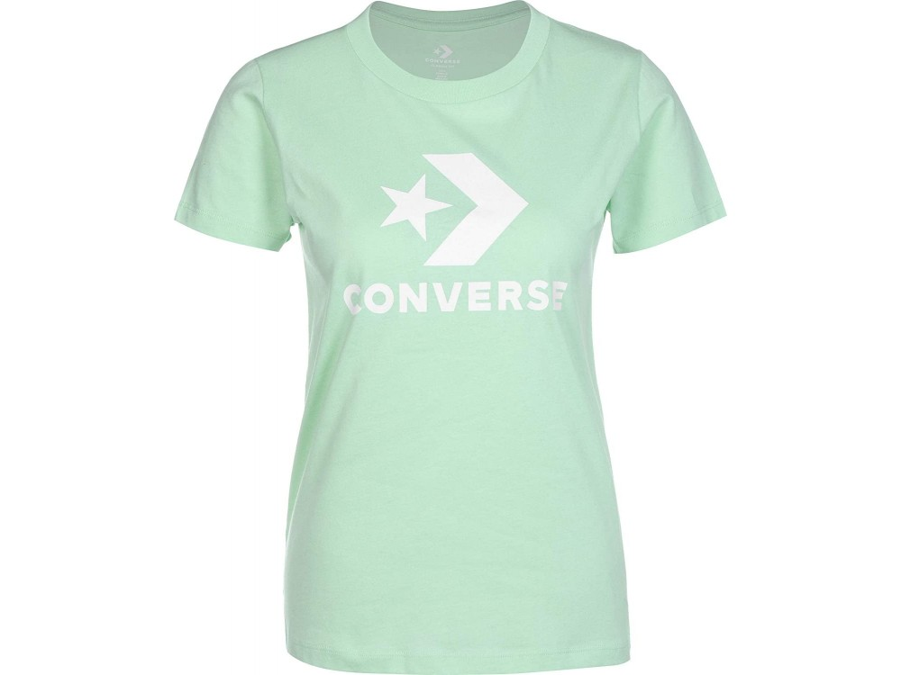 CONVERSE CAMISETA MUJER 10018569 A11 VERDE