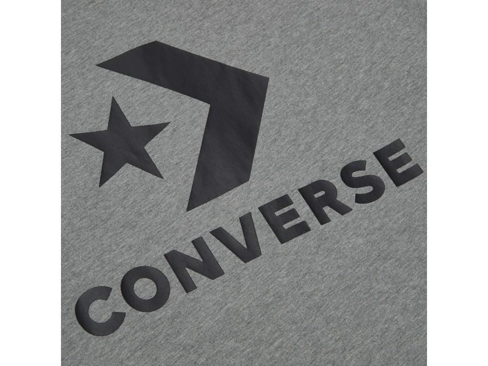 CONVERSE CAMISETA HOMBRE 10018568 A03 035 GRIS