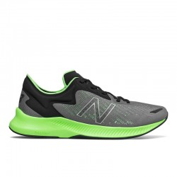 NEW BALANCE HOMBRE MPESULL1 GRIS-NEGRO-FLUOR