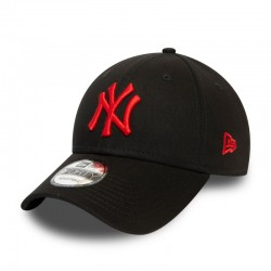 NEW ERA CAP LEAGUE ESSENTIAL 94 GORRA 12380594 NEGRA Y ROJA