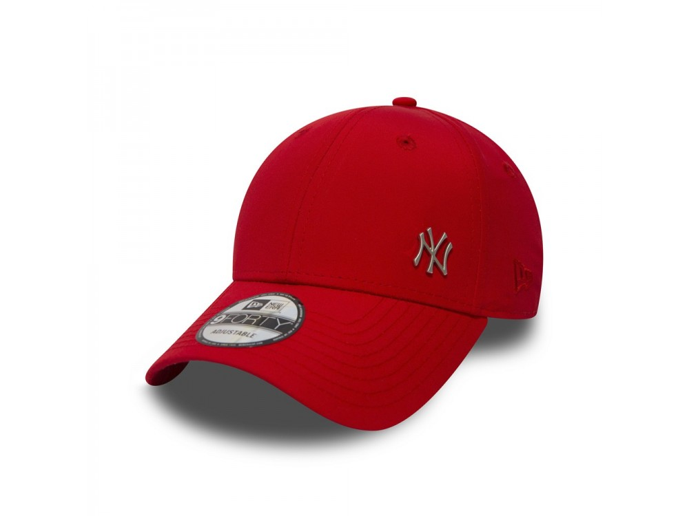 NEW ERA CAP GORRA MLB FLAWLESS LOGO BASIC 11198847 ROJA