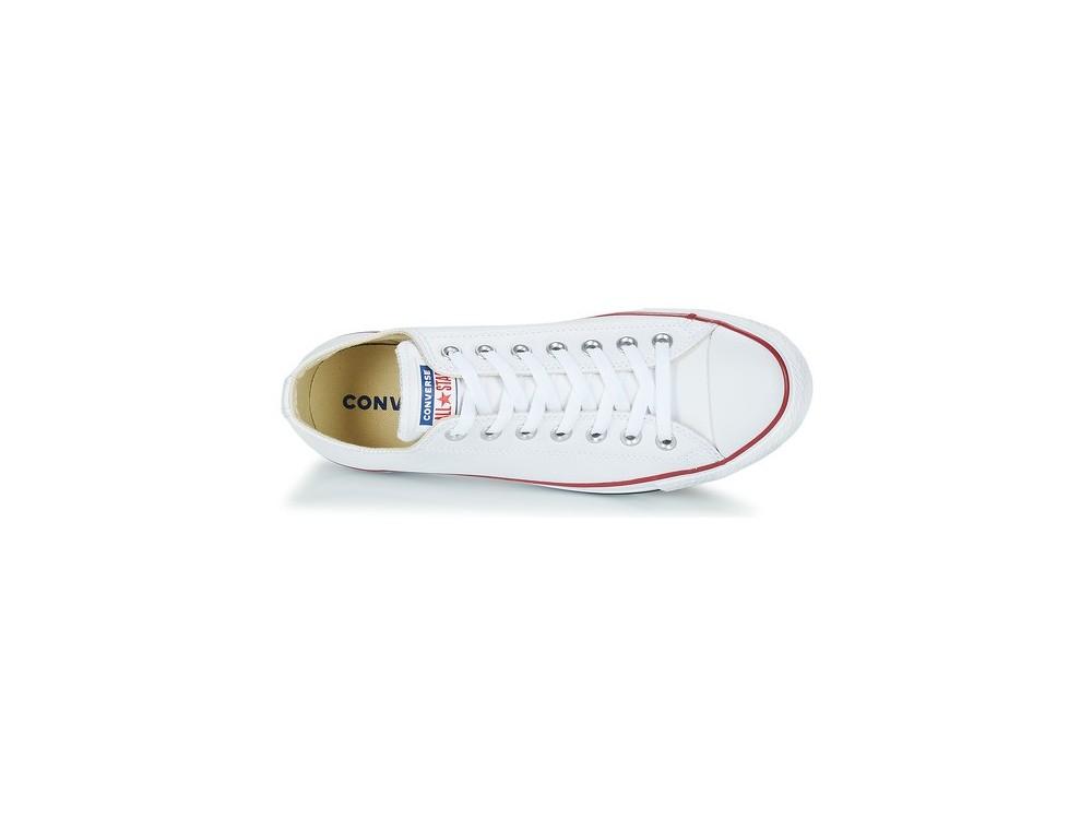 Comprar Zapatillas Mujer-Hombre Converse All Star OX M7652 Blancas