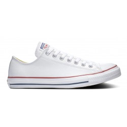CONVERSE MUJER ALL STAR OX  CORE LEATHER OX 132173C BLANCA