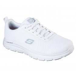 SKECHERS FLEX ADVANTAGE BENDON HOMBRE 77125EC BLANCA