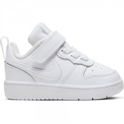 NIKE COURT BOROUGH LOW (TDV) ZAPATILLA NIÑO BQ5453 100 BLANCAS