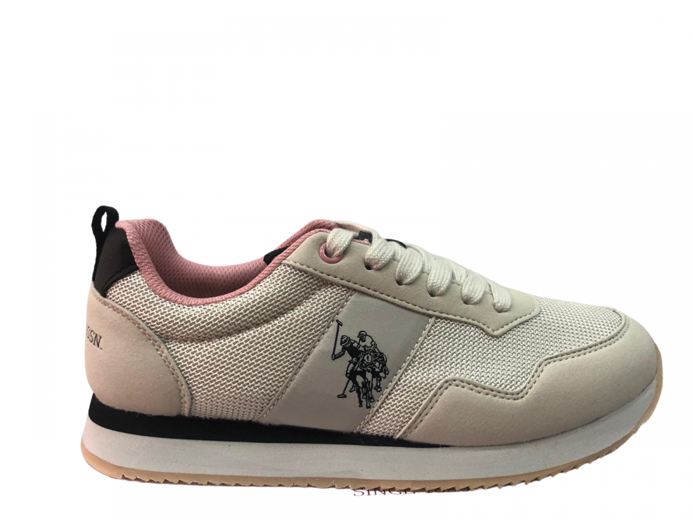 US POLO ASSN TEVA5-OFF  MUJER BEIGE