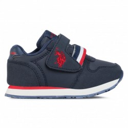 US POLO ASSIN MAX1 CLUB-DKBL ZAPATILLA NIÑO AZUL MARINO