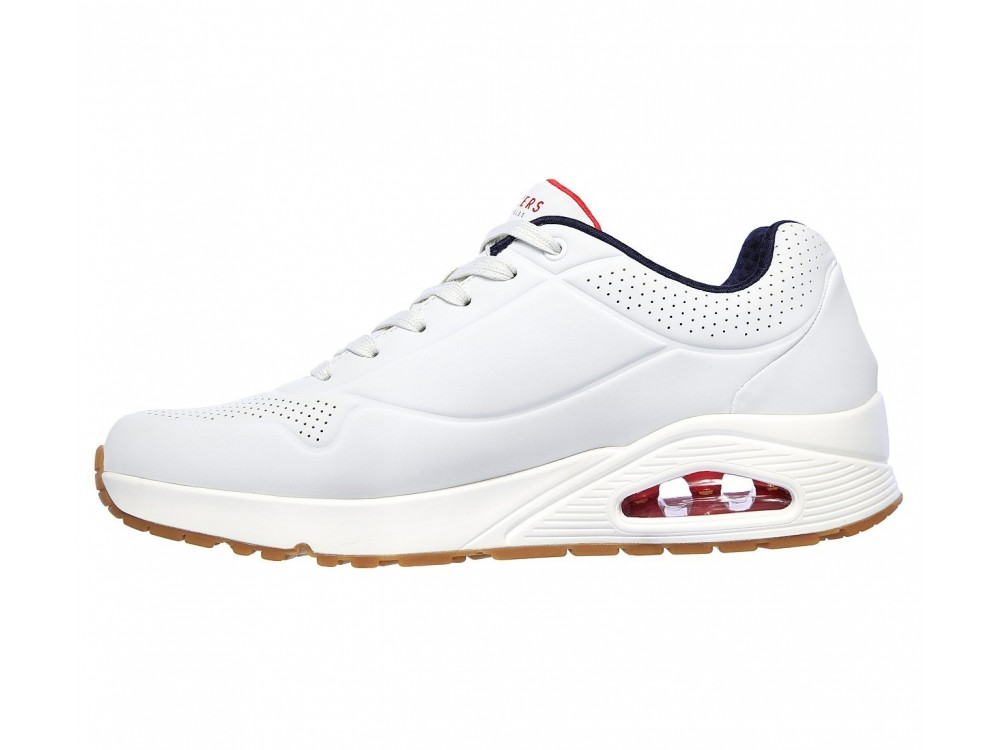 SKECHERS HOMBRE BLANCO 52458 WNVR AIR