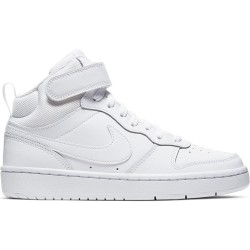 NIKE COURT BOROUGH MD 2 PSV NIÑO-A CD7783 100 BLANCAS