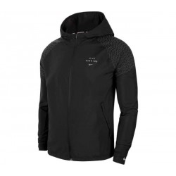 NIKE CHAQUETA ESSENTIAL RUN DIVISION FLASH HOMBRE CU7870 010 NEGRA