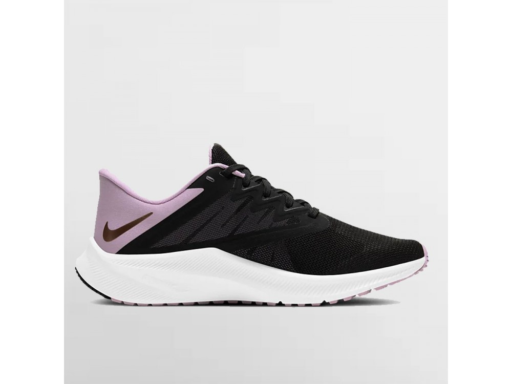 NIKE QUEST 3 MUJER CD0232 009 NEGRA Y ROSA