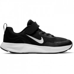 NIKE WEARALLDAY PS NIÑA/O CJ3817 002 NEGRA