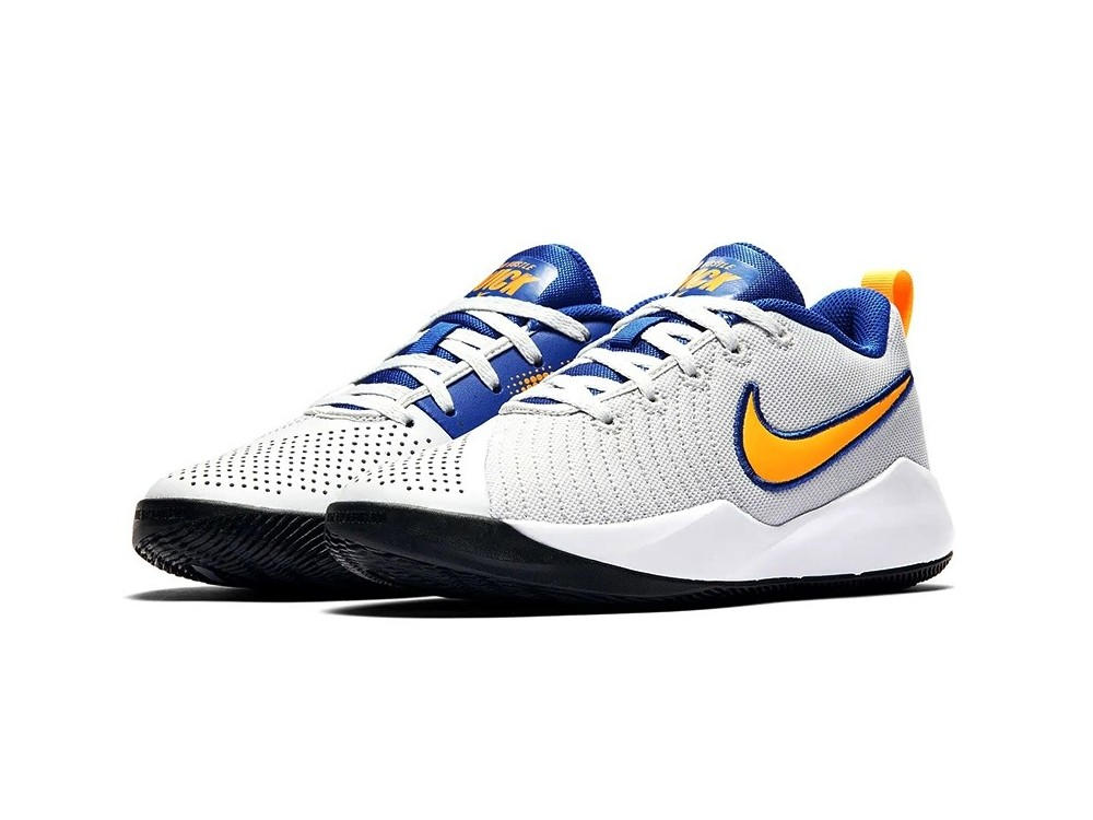 NIKE TEAM HUSTLE QUICK 2 GS AT5298 011 GRIS Y AZUL