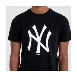 NEW ERA TEAM LOGO TEE NEW YORK YANKEES CAMISETA 11863697 NEGRA