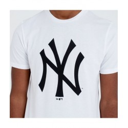 NEW ERA TEAM LOGO TEE NEW YORK YANKEES CAMISETA 11863818 BLANCA