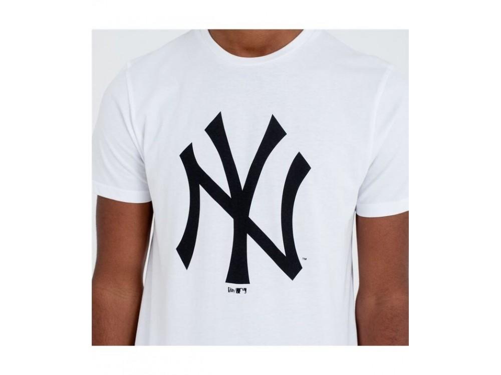 NEW ERA TEAM LOGO TEE NEW YORK YANKEES CAMISETA 11863818 BLANCA