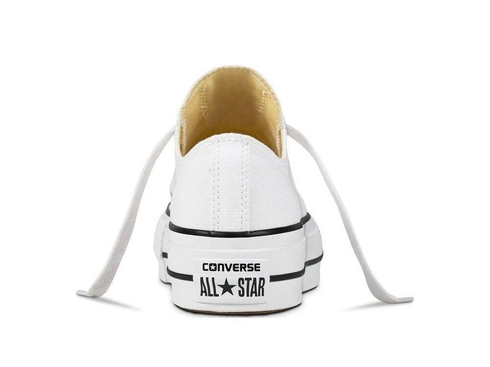 CONVERSE ALL STAR PLATAFORMA MUJER 560251C BLANCAS