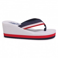 Chanclas U.S. POLO ASSN MUJER HERA WHI DKBL