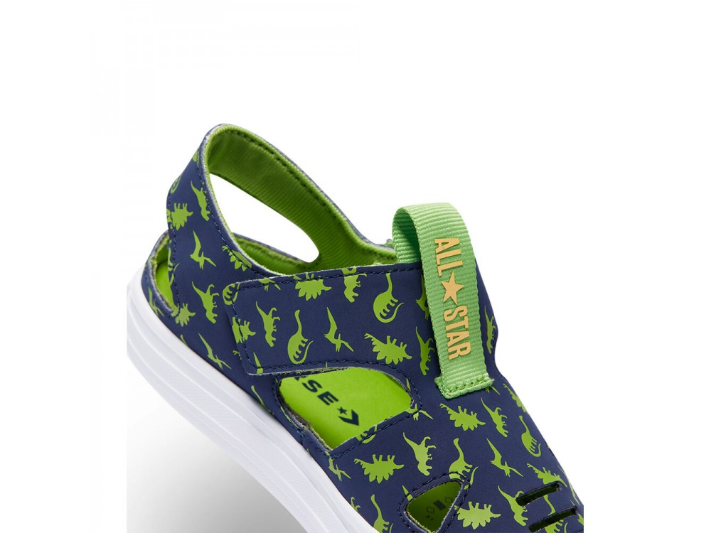 CONVERSE ALL STAR SUPERPLAY SANDALIAS NIÑO DINOSAURIO 670740C  MARINO