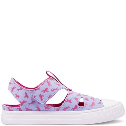 CONVERSE ALL STAR SUPERPLAY SANDALIAS NIÑA DINOSAURIO 670740C MORADO