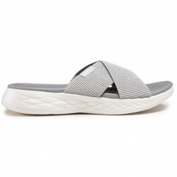 CHANCLAS SKECHERS MUJER GO GRIS 16259SIL
