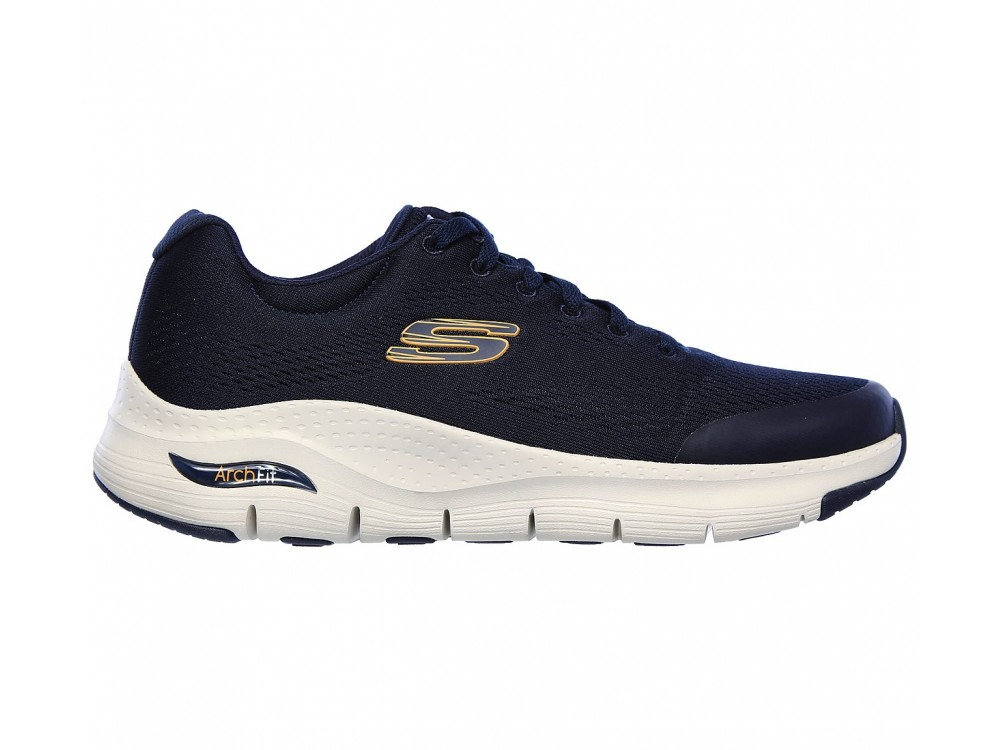 SKECHERS HOMBRE ARCH FIT 232040/NVY AZUL