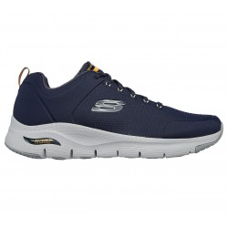 SKECHERS HOMBRE ARCH FIT TITAN 232000/NVY AZUL MARINO