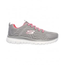 SKECHERS GRACEFUL MUJER 12615/GYCL GRIS