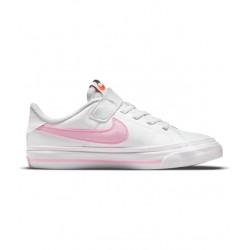 Zapatillas Nike Court Legacy Niña Blanca DA5381-109