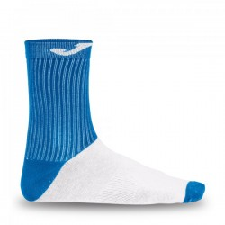 SOCK WITH COTTON FOOT ROYAL